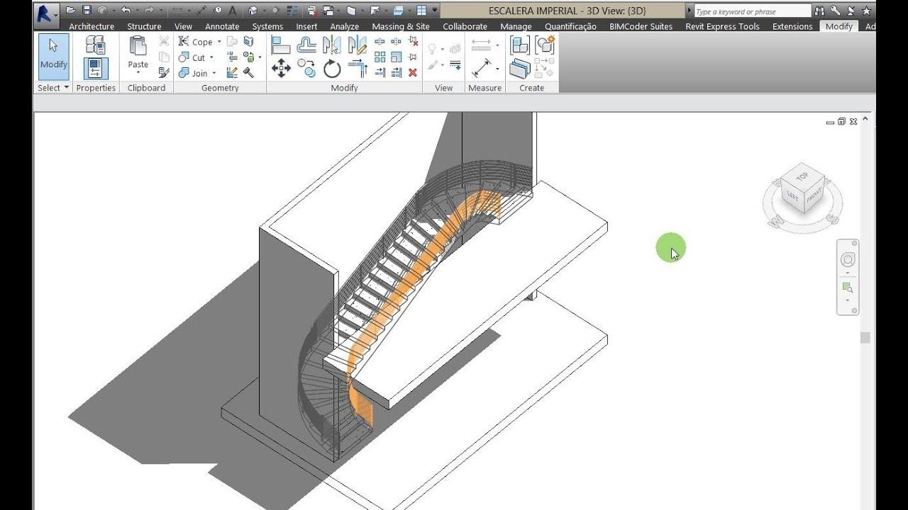 revit escalera video revit escalera curva compensada