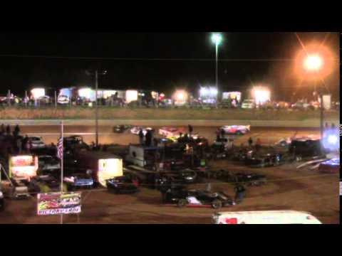 Toccoa Speedway Wrecks & Spins 5/2/2014