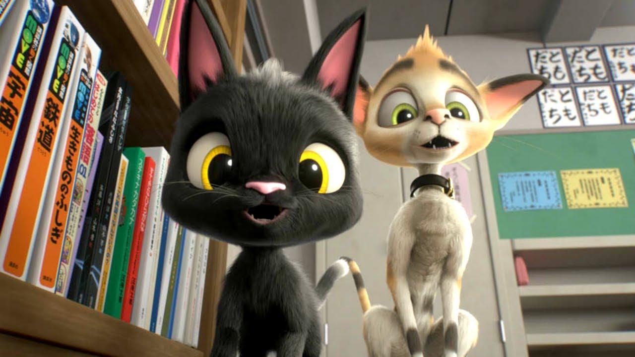 Трейлер черный кот рудольф