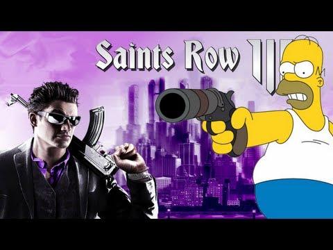 Homer Simpson sur Saints Row The Third - C'est la 100èmes !