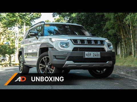 BAIC BJ20 1.5 Luxury CVT - Unboxing