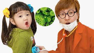 Yume and Rena - Wash Your Hands story For Kids