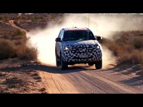 การทดสอบ All New Ford Everest 2015 ในแบบ OFF-ROAD ที่ทะเลทรายในประเทศออสเตรเลีย