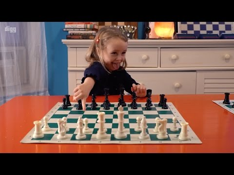 A Four-Year-Old Teaches You How To Play The Cutest Game Of Chess