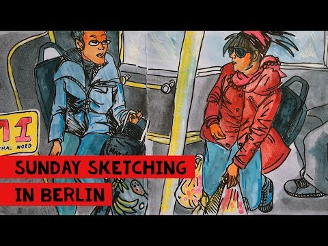 Berlin Sunday Sketching
