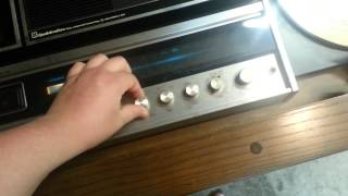 Vintage Motorola Cabinet Stereo