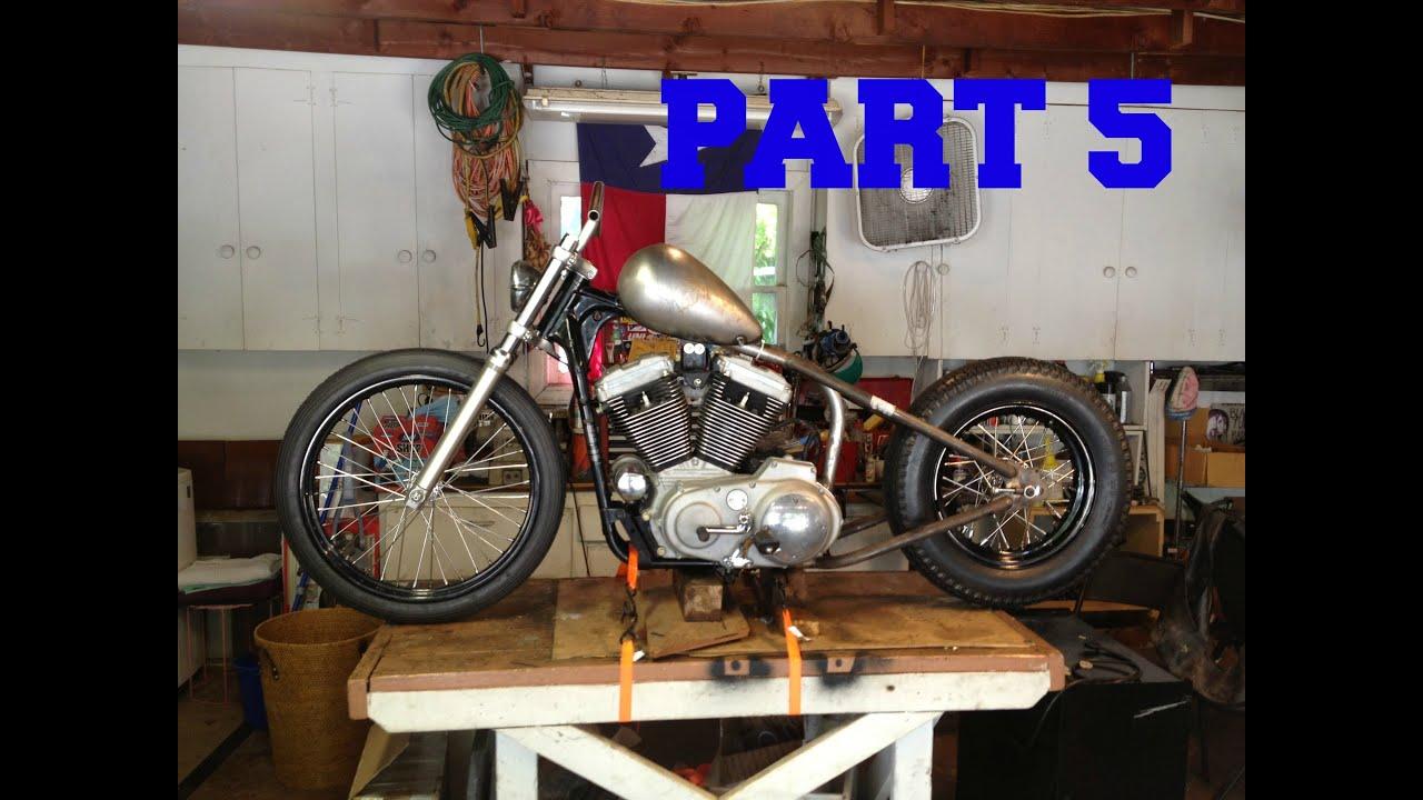 Part 5 1999 Sportster Chop