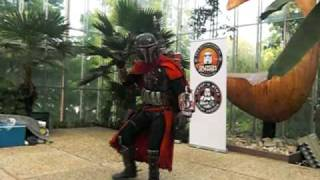 A Cool Mandolorian Warrior @ Elf Fantasy Fair (Dutch Garrison)