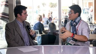 BevNET Live Winter 2017 - Livestream Lounge Interview with Yu-Sung Huang of Blue Bottle Coffee