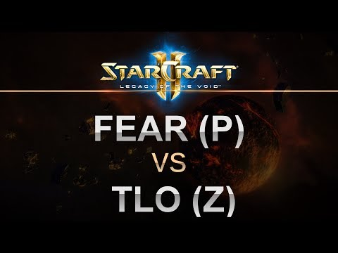 SC2 - Legacy of the Void 2017 - Fear (P) v TLO (Z) on Proxima Station LE