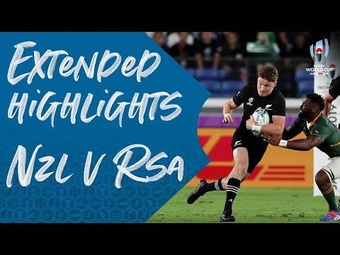 Extended Highlights: New Zealand v South Africa
