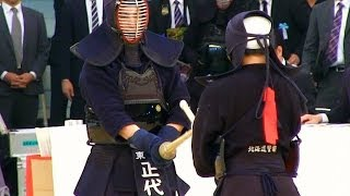 The 61th All Japan KENDO Championship (1st Round) SHODAI Masahiro (...