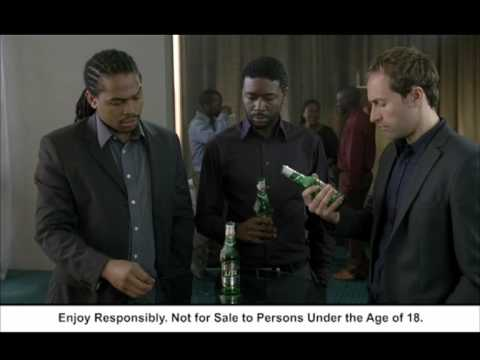 Castle Lite as cool as ice TV commercial