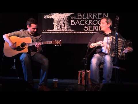 Mick McAuley with Patrick Doocey
