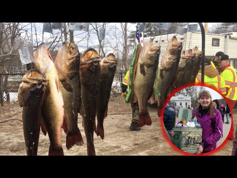 Sokokis Maine Ice Fishing Derby 2020 | Dunnells In The Wild