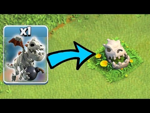 Thumbnail: HOW DID THIS HAPPEN!?! | Clash of clans | BABY DRAGON SKULL THEORY