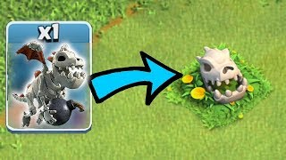 HOW DID THIS HAPPEN!?!   Clash of clans   BABY DRAGON SKULL THEORY