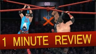 PSP - TNA Impact!: Cross the Line (1 Minute Review)