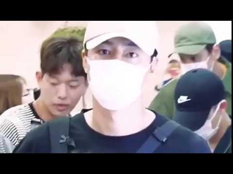 Jo In Sung, Lee Kwang Soo, D.O Exo In Gimpo Airport Japan