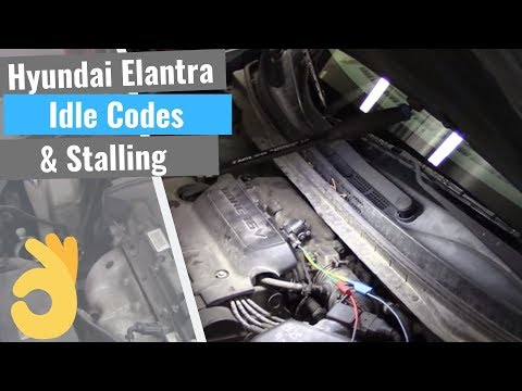 Hyundai Elantra: Idle Too Low / To High