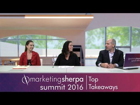 Top Takeaways of MarketingSherpa Summit 2016