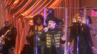 Culture Club performs Church of the Poison Mind Fri 9-7-18 Starlight Theater Kansas City