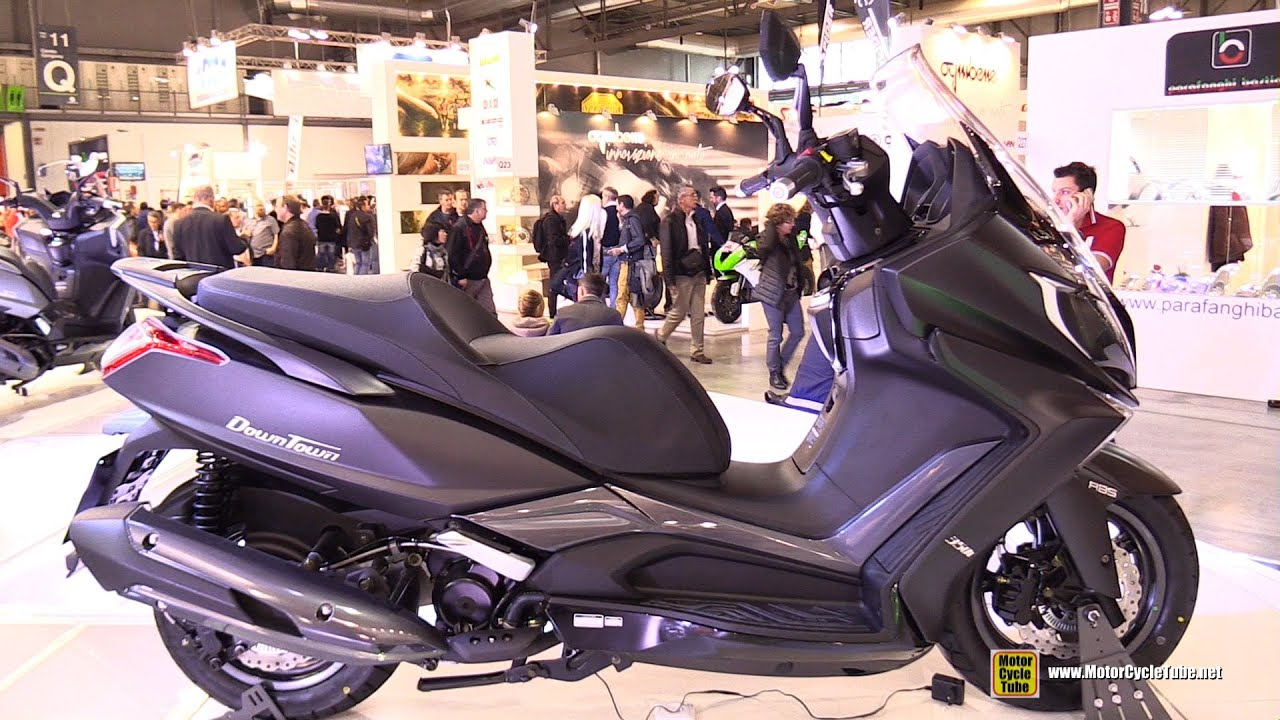 2016 kymco downtown 350 abs scooter walkaround 2015 eicma milan youtube. Black Bedroom Furniture Sets. Home Design Ideas