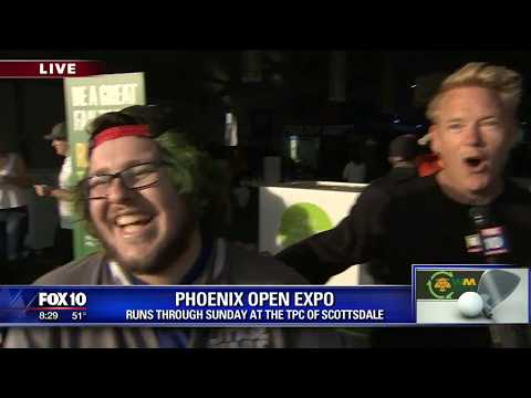 Cory's Corner: Waste Management Phoenix Open Expo