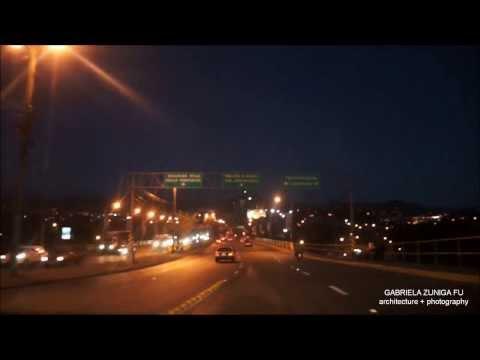 Traffic Traveling at Tegucigalpa
