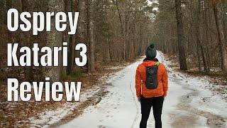 Osprey Katari 3 Review | Hiking VLOG