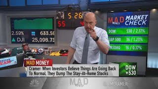 Jim Cramer: Investors betting on a quick recovery should own these stocks