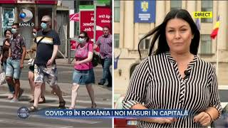 Stirile Kanal D (06.10.2020) - COVID-19 in Romania | Noi masuri in capitala | Editie de pranz