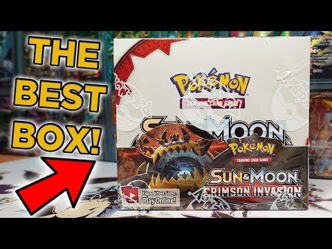 OPENING THE BEST CRIMSON INVASION POKEMON BOOSTER BOX! (1/3)