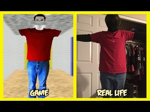 Baldi's Basics in Education and Learning Characters In Real Life