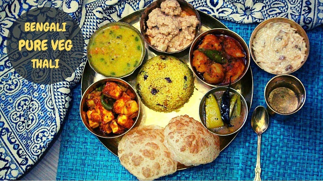 Download Bengali Pure Veg Thali- No Onion No Garlic  Quick & Easy To Make 