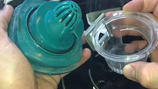 Leifheit Akku-Staubsauger Regulus PowerVac 2in1 Filter reinigen mit Wasser und Staubsauger Anleitung