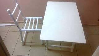 Как сделать стул из полипропилена?
