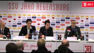 Pressekonferenz zur Vorstellung von Heiko Herrlich