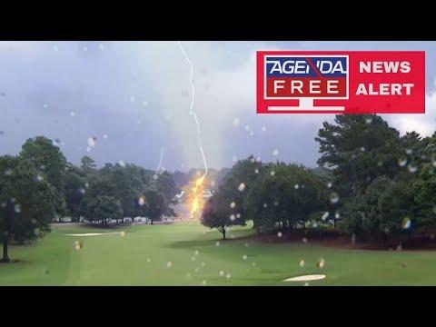 6 Injured In Lightning Strike At PGA Tour Championship - LIVE COVERAGE