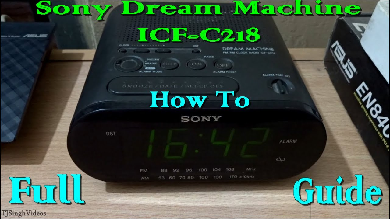 sony dream machine icf c218 guide 1080p youtube rh youtube com sony dream machine alarm clock manual icf-c414 sony dream machine alarm clock manual icf-c414