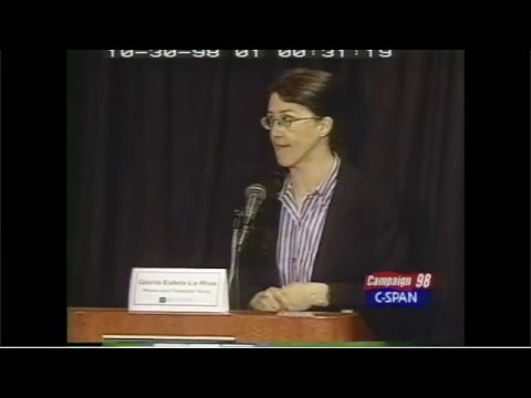 Gloria La Riva in CA Gubernatorial Debate, 1998