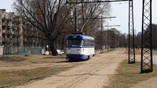 Trams of Riga 2018