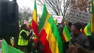 Ethiopia: Protest in front of State Department, Washington DC