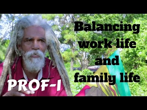 Prof- I speaks on balancing work and family life..