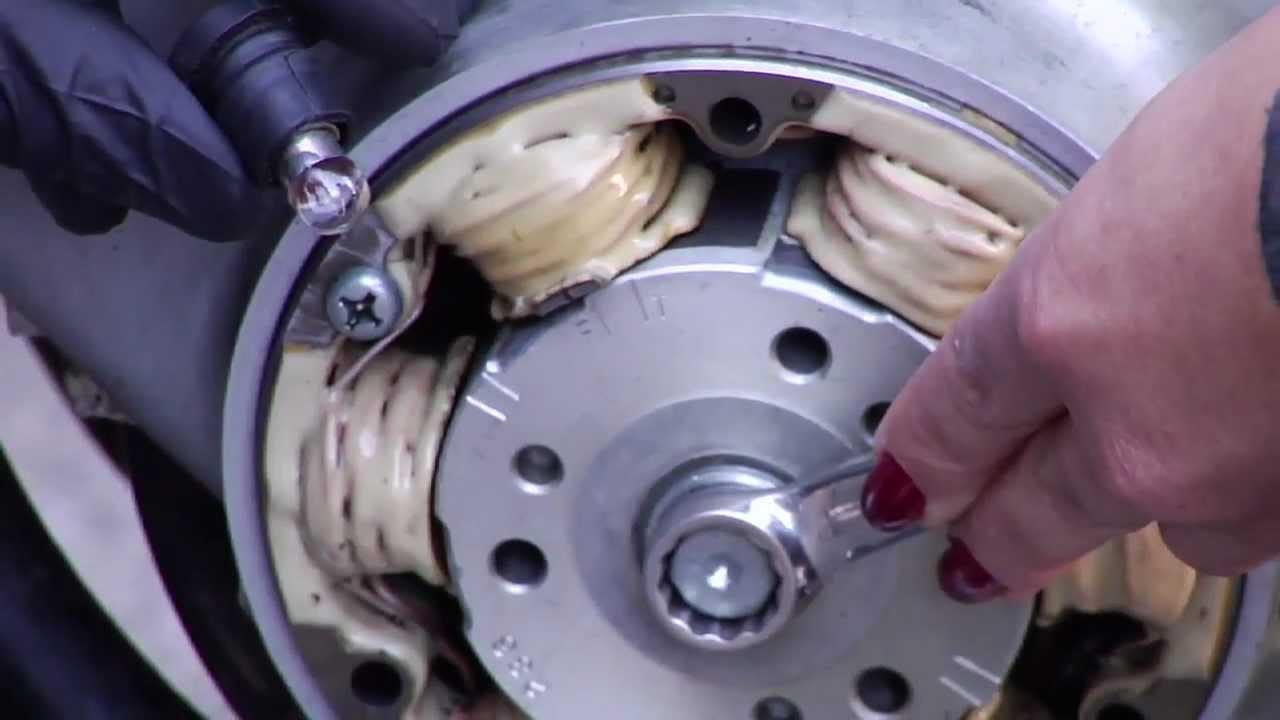Vintage Honda Motorcycle Electronic Ignitions