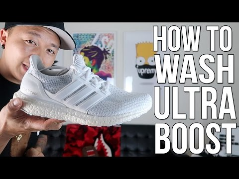 HOW TO WASH ULTRA BOOST!
