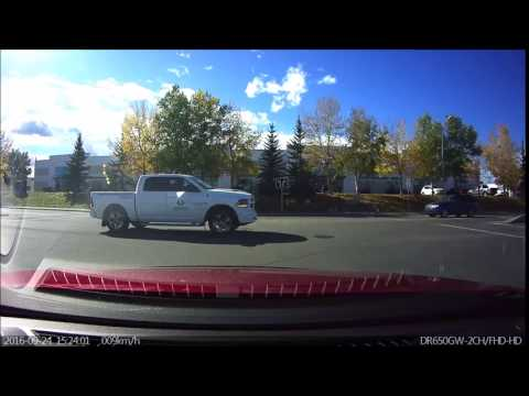 Calgary driver -  Eagle Lake Landscape how does a stop sign work