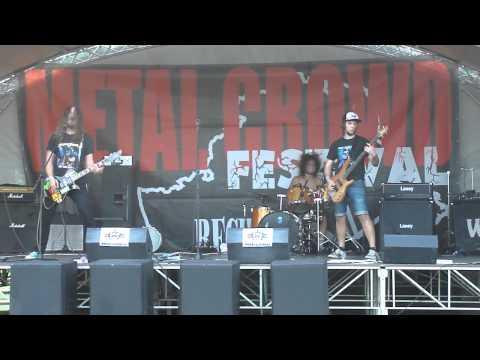 Ram zet i am live at metal crowd fest 2012 rechitsa 26 08 12