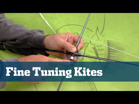 Florida Sport Fishing TV - Pro's Tip Kite Fishing Fine Tuning Kites Offshore How To