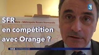 SFR déploie la fibre optique dans la métropole de Rouen